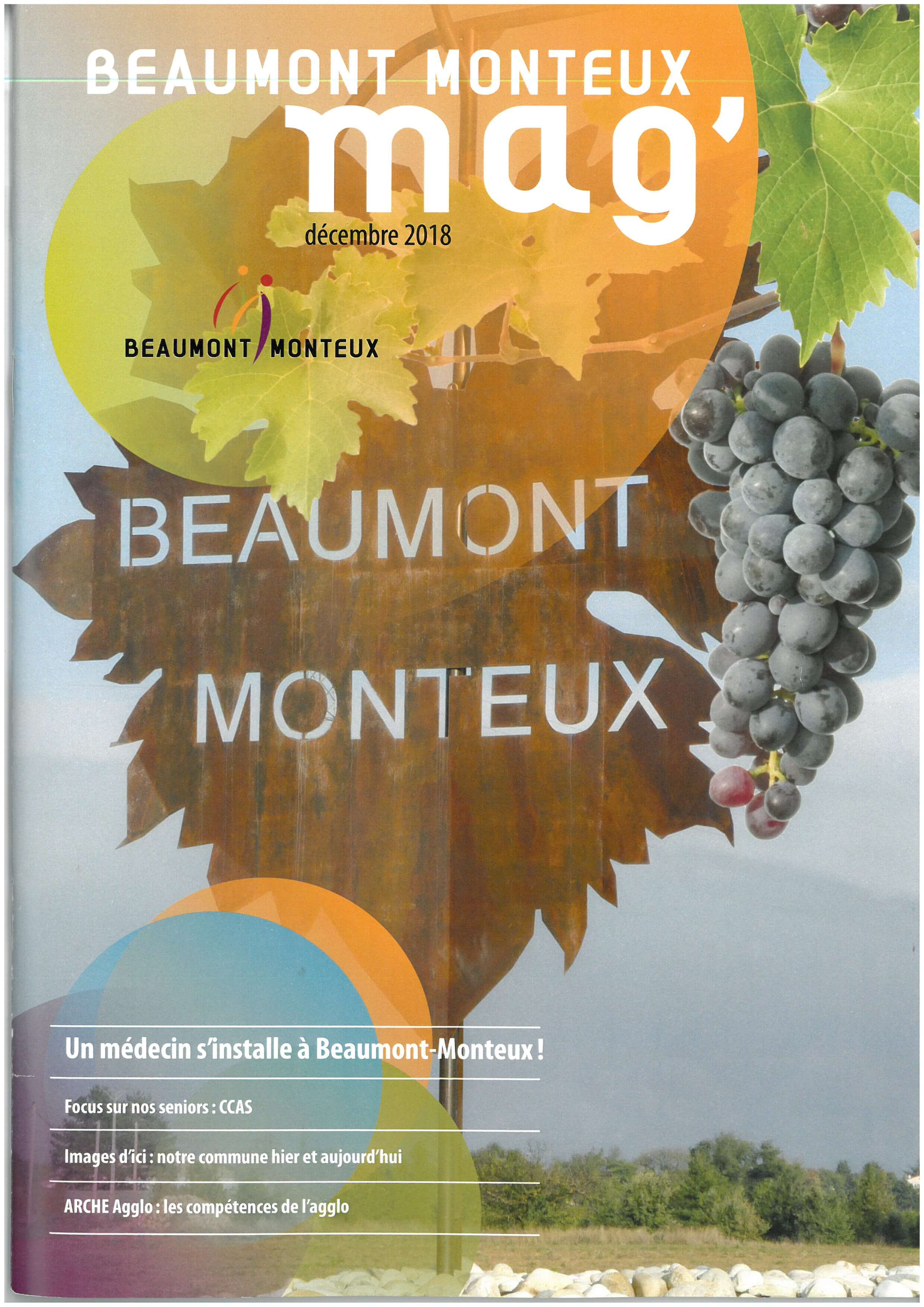 Couverture Beaumont Mag : Beaumont Mag  2018